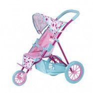 Baby Born, Docksulky med 3 hjul Blå