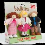 Le Toy Van, Budkins Familj 3 Figurer