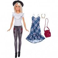 Mattel Barbie, Hipster Docka med extra kläder