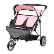 Mini Mommy Tvillingdockvagn