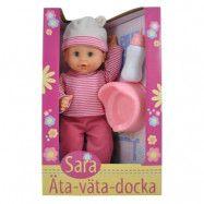 Skrållan - Sara docka äta-väta-docka 40 cm