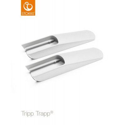 Stokke Tripp Trapp Tippskydd/Benförlängare (Vit Ny)