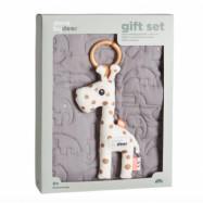 Done By Deer - Gift Set Filt och Leksak