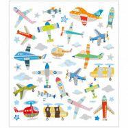 Klistermärken Flygplan och Helikopter