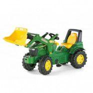 Tramptraktor med skopa John Deere Rolly Toys Farmtrac