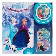 StorOchLiten Disney Frozen, Frost bok med musik CD
