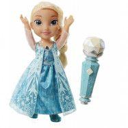 Disney Frozen Sing-a-long med Elsa i duett med mic