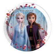Frozen 2 Pappersassietter - 8-pack