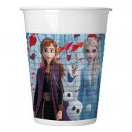 Frozen 2 Plastmuggar - 8-pack