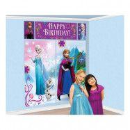 Väggdekorationer Frost/Frozen Happy Birthday - 5-pack