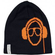 Geggamoja Headphone Beanie Navy (0-2 år)