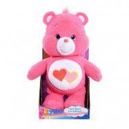 Maki Care Bears, Gosedjur 26 cm - Love-a-Lot Bear
