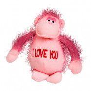 Mjukisdjur Rosa Apa I Love You