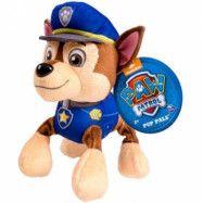 Paw Patrol - Mjukisdjur 14 cm (Chase)