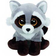 TY, Beanie Boos - Bandit Tvättbjörn 15 cm