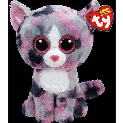 TY, Beanie Boos - Lindi Katt 23 cm