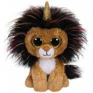 TY Beanie Boos Lejon med horn 15 cm (Ramsey)