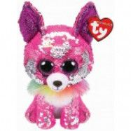 TY gosedjur Flippables Charmed Chihuahua med paljetter 16 cm