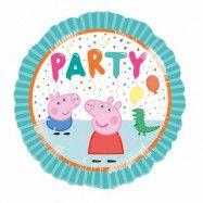 Folieballong Greta Gris Party! - 45 cm