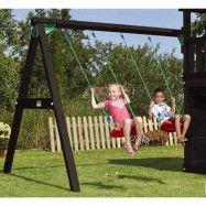 Jungle Gym Swing Modul X'tra komplett, grundmålat svart
