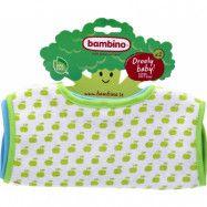 Bambino Haklapp mjuk 2-p (Blå och Grön)