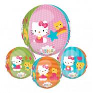Folieballong Orbz Hello Kitty