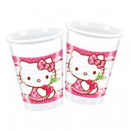 Plastmuggar Hello Kitty - 8-pack