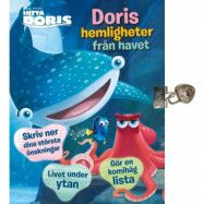 Disney Hitta Doris - Dagbok med lås