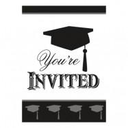 Inbjudningskort Examen - 8-pack