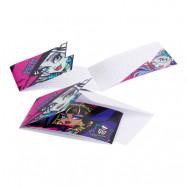 Inbjudningskort Monster High 2 - 6-pack