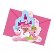 Inbjudningskort Unicorn
