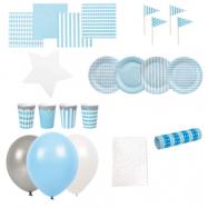 Jabadabado, Partypaket Stor Ljusblått