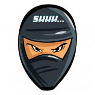 Ninja Inbjudningskort - 8-pack