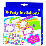 Playbox - Pysselset inbjudningskort