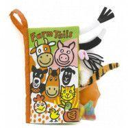 Jellycat, Farm Tails Bok
