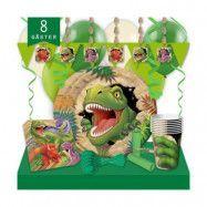 Kalaspaket Dino Blast Lyx 8 pers