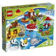 LEGO DUPLO Town 10805, Jorden runt