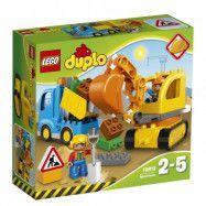 LEGO DUPLO Town 10812, Lastbil och grävmaskin