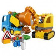 LEGO DUPLO - Town: Lastbil och grävmaskin 10812