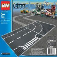 LEGO City 7281, T-korsning&kurva