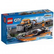 LEGO City Great Vehicles 60085, Fyrhjulsdriven bil med motorbåt