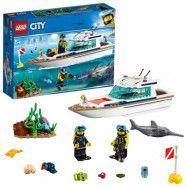 LEGO City Great Vehicles 60221 Dykaryacht
