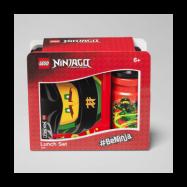 LEGO, Ninjago - Lunchset röd