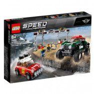 LEGO Speed Champions 75894 - 1967 Mini Cooper S Rally och 2018 MINI John Cooper Works Buggy