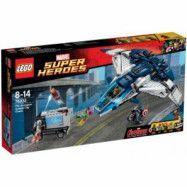 LEGO Super Heroes - Marvel: Hämnarnas cityjakt med Quinjeten 76032