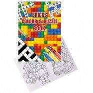 Pyssel och Målarbok Lego