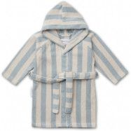 Liewood badrock Reggie 3-4 år, stripe sea blue/sandy