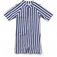 Liewood UV-dräkt/jumpsuit Max Swim stl 56/62, stripe navy