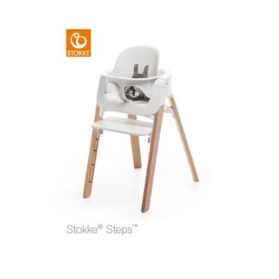 Stokke Steps matstol med babysits, valfri färg