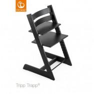 Stokke Tripp Trapp matstol, oak black, Oak black